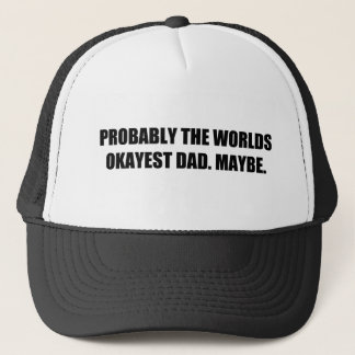 For: An Alright Dad Trucker Hat