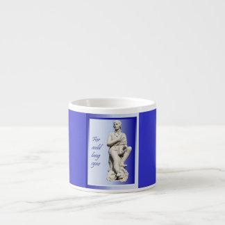 For Auld Lang Syne 6 Oz Ceramic Espresso Cup