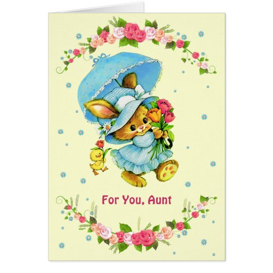 For Aunt on Mother's Day Greeting Cards
