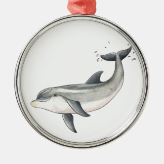 For Baby dolphin children Christmas Ornament