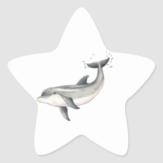 For Baby dolphin children Star Sticker