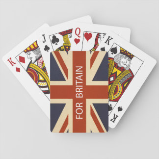 For Britain playing cards