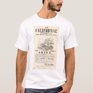 "For California!...""Orion"" Advertisement (1281A) T-Shirt"