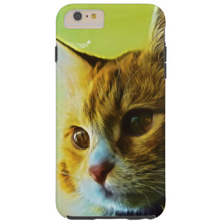 For Cat's Lovers Tough iPhone 6 Plus Case