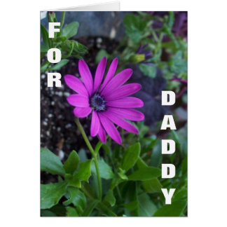 For Daddy Greeting Card