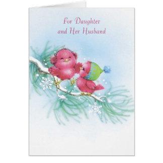 For Daughter and Her Husband Greeting Card