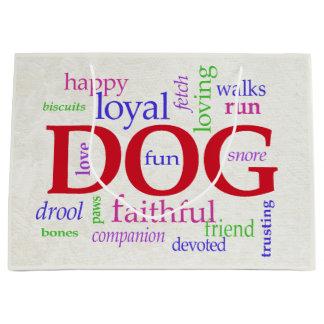 For Dog Lovers Large Gift Bag