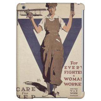 For Every Fighter a Woman Worker iPad Air Cover