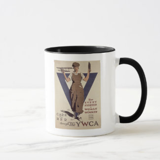For Every Fighter a Woman Worker Mug