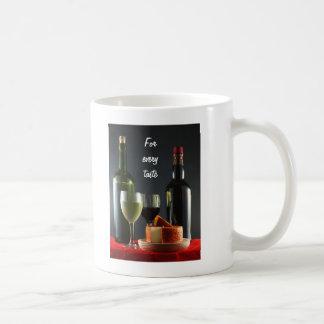 For Every Taste Classic White Coffee Mug