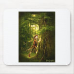 ..for faery folks live in old oaks mouse pads