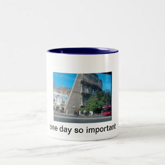 for family, or commercial need Two-Tone mug