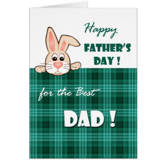 For Father on Father's Day Greeting Cards