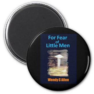 For Fear of Little Men - VISION D-8 UFO Book Cover Refrigerator Magnet