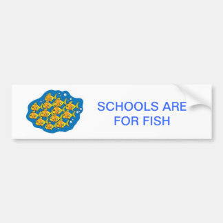 For Fish Bumper Sticker
