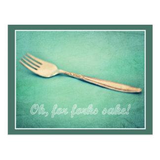 For Forks Sake! Postcard
