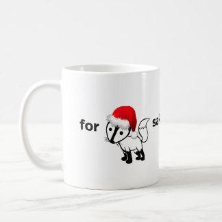 For Fox Sake Coffee Mug | Christmas Edition!!