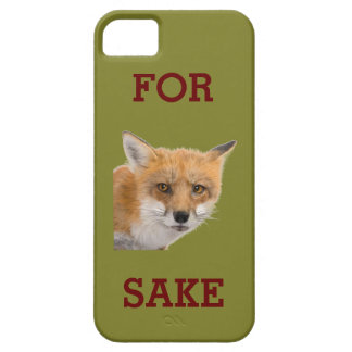 FOR FOX SAKE - IPHONE CASE