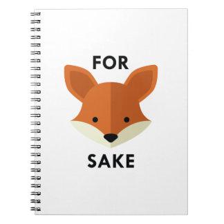 For Fox Sake Notebooks
