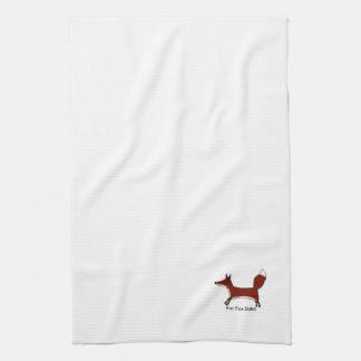 For Fox Sake - Tea towels