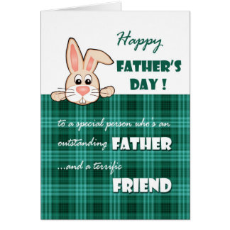 For Friend on Father's Day Greeting Cards