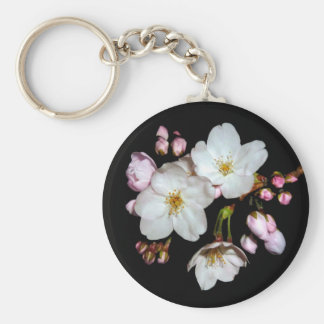 For fund-raising and Cherry blossoms, cherry tree Key Ring