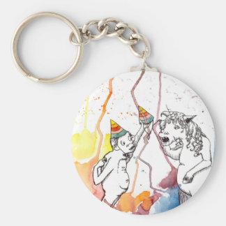 For genuine unicorns and unicorn fan basic round button key ring