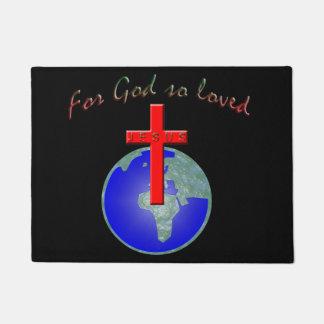 For God so loved Doormat