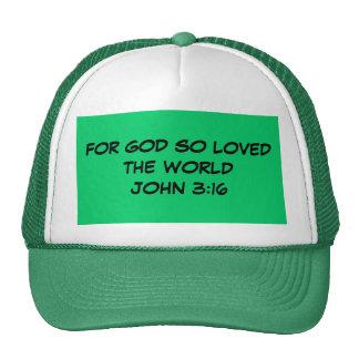 FOR GOD SO LOVED Hat