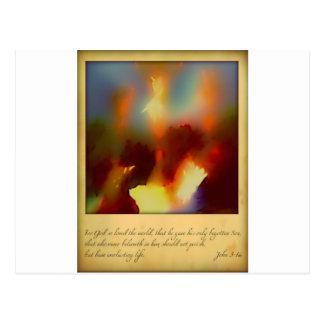 For God So Loved..... Post Cards