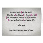 For God So Loved The World -