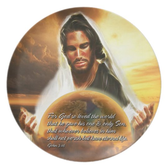 For God so Loved the World 2 Plate