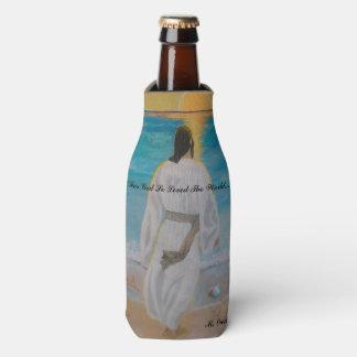 """For God So Loved The World..."" Bottle Cooler"