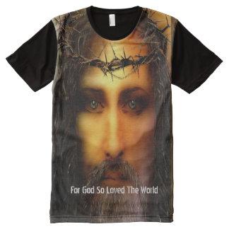For God So Loved The World Custom T-Shirt All-Over Print T-Shirt
