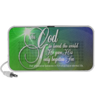 For God so Loved the World Doodle Speaker