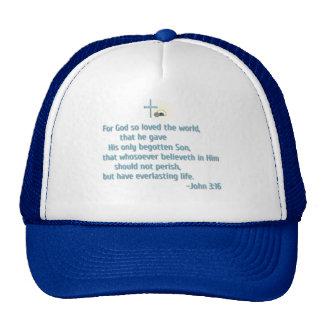 For God So Loved the World Mesh Hats