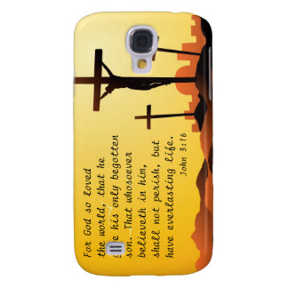 For God so loved the World - John 3:16 Galaxy S4 Case
