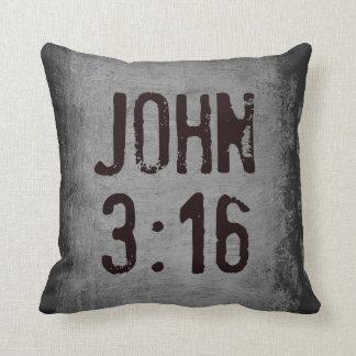 For God So Loved the World...John 3:16 Throw Pillow