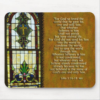 For God so loved the world..... Mouse Pad