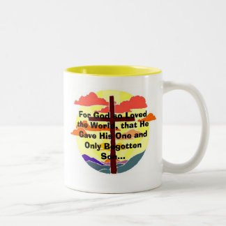 For God so Loved the World... Coffee Mugs