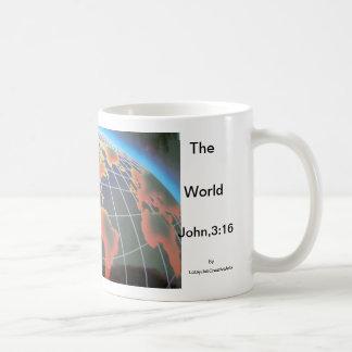 For God so loved the world Basic White Mug
