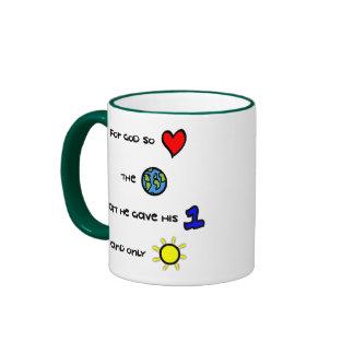 For God so Loved the World mug