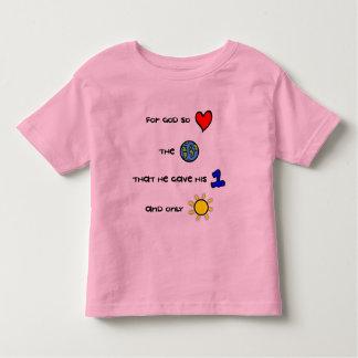 For God so Loved the World toddler t-shirt