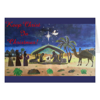 For God So Loves The World Greeting Card