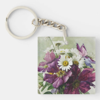 For Grandmother on Mother's Day Gift Keychains. Key Ring