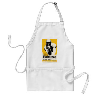 For Greater Knowledge Standard Apron