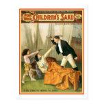 For Her Children's Sake Vintage Theatre Poster Postcards