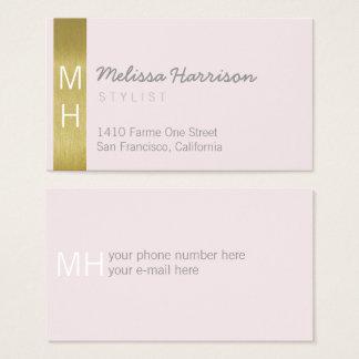 for her stylish feminine & modern professional business card