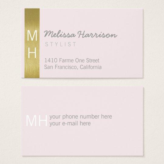 for her stylish feminine & modern professional business