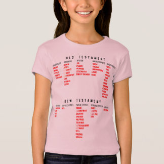 for HER (youth): Books of the Bible T-Shirt